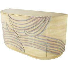 1stdibs | Phyllis Morris Art Nouveau Inspired Carved & Lacquered Chest