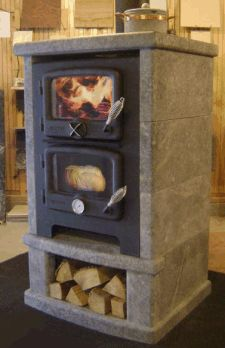 Vermont Bun Baker - wood stove, bake oven, cook-top all in one. Vermont Bun Baker - wood stove, bake oven, cook-top all in one. Bakers Oven, Wood Stove Cooking, Kitchen Stove, Stove Oven, Rocket Stoves, Into The Woods, Wood Burner, Sustainable Living, Vermont