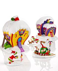 Department 56 Collectible Figurines, Grinch Village Collection - Holiday Lane - Macy's