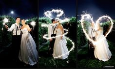 Why sparklers are totally necessary at weddings