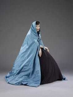 Evening Cape Hubert de Givenchy, 1957 The Victoria & Albert...