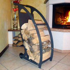 Firewood trolley charcoal