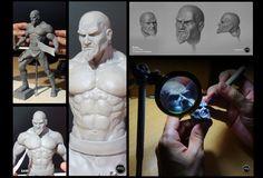 Increibles esculturas de Kratos - DDG