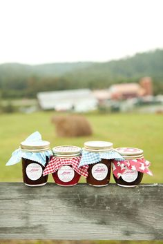 YES! I love this idea. And of course, I would make all the homemade jam. Strawberry and peach. Yum.