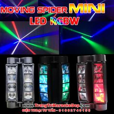 Đèn Sân Khấu Mini Spider Mini Giá Rẻ
