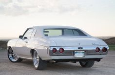 1970 Chevy Chevelle Ss White Rear Taillights