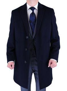 Luciano Natazzi Men's Black Cashmere Wool Overcoat Modern Topcoat (48 US - 4X-Large) Luciano Natazzi http://www.amazon.com/dp/B00AWZAEBS/ref=cm_sw_r_pi_dp_xKD-ub1DFP6CY