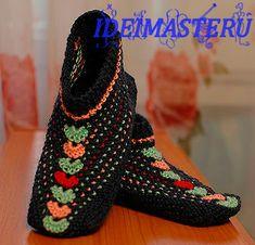 Вязание,спицами,следки,тапочки,носки,обувь,описание My Photos, Slippers, Knitting, Handmade, Shoes, Fashion, Chrochet, Tricot, Moda
