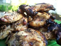 Adobo-Citrus Grilled Chicken Thighs