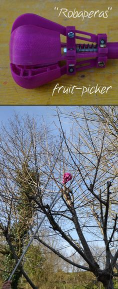 Make fruit picking much easier!