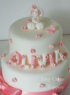 Tutte le dimensioni |Bunny rabbit cake topper set christening birthday | Flickr – Condivisione di foto!