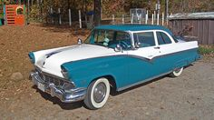 1956 Ford Fairlane Club Sedan-had a car like this in the early 60's