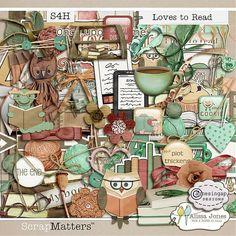 Loves to Read by Alissa Jones & Agnesingap Designs