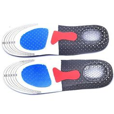 Dependable Dropshipping Unisex Orthotic Arch Support Sport Shoe Pad Sport Running Gel Insoles Insert Cushion For Men Women Foot Care Beauty & Health