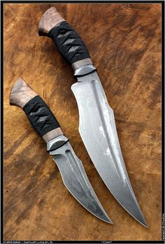 Hunter Knive With Fuller