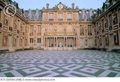 Versailles Palace, East entrance. Paris. France