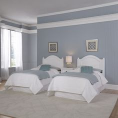 online shopping for Home Styles Bermuda White Two Twin Beds Night Stand from top store. See new offer for Home Styles Bermuda White Two Twin Beds Night Stand Twin Bedroom Sets, 5 Piece Bedroom Set, Wood Bedroom Sets, Kids Bedroom Furniture, Bedroom Colors, Bedroom Decor, Teen Bedroom, Bedroom Night, Master Bedroom