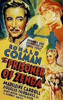 The Prisoner of Zenda, 1937, Ronald Colman and Madeleine Carroll