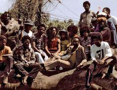 vintage alledaagse: When The King of Reggae Met The King of Pop - hier zijn enkele zeldzame Shots van Bob Marley Opknoping uit met Michael Jackson in Jamaica, 1975