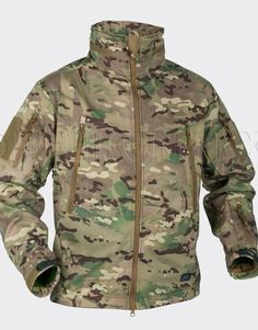 Camping & Hiking Ingenious Us Special Spec Ops Softshell Army Tactical Soft Shell Jacket Coyote Med