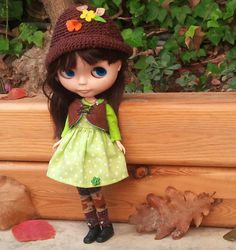 Little Woodland Girl outfit by RainbowDaisies on Etsy