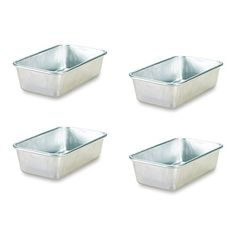 Nordic Ware Natural Aluminum Commercial Mini Loaf Pans Four 2Cup Pans -- You can find more details by visiting the image link.Note:It is affiliate link to Amazon. #75likes