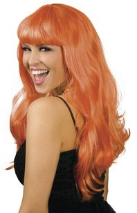 Image de perruque chique orange