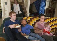 Frank,Ian,Liam,Carl,and baby Frannie,season 7