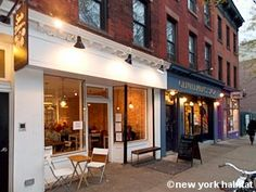 Cafe in Park Slope :-) (A short train ride away from the city)
