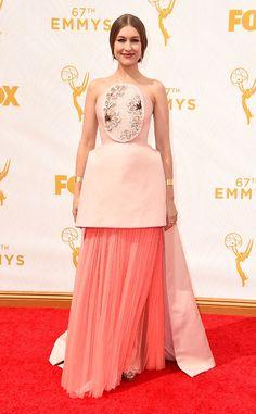 Joanna Newsom in Delpozo at the 2015 Emmys