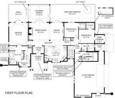 Laurel river house plan pictures