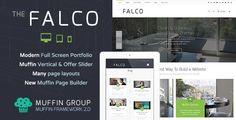 Falco - Responsive Multi-Purpose WordPress Theme Template Download