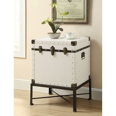Pottery Barn Ludlow Trunk Side Table Pinterest Tents Pottery - Pottery barn trunk side table