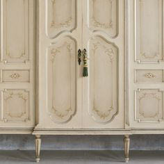 Eloquence One of a Kind Vintage Armoire Leaf Vintage Armoire, Reproduction Furniture, Walnut Veneer, Annie Sloan, Furniture Collection, Chalk Paint, French, Antiques, House