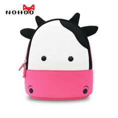 Buy YISIBO Kids Backpack Cute Cartoon School Toddler Sidesick Bags Gift for Years  Old (Cow-Pink) and other Kids  Backpacks at . c073a0fdb475f
