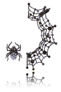 #spider #web #kolczyki #earrings