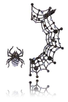 #spider #web #kolczyki #earrings