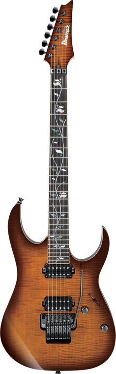 Ibanez J-Custom JCRG20126. Ibanez is finally selling these high-end guitars outside of Japan.