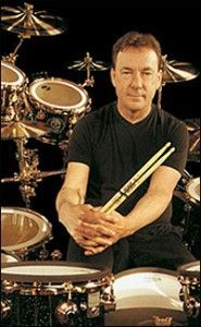 Neil Peart of RUSH. Most incredible drummer of all time. #AwesomeDrummers