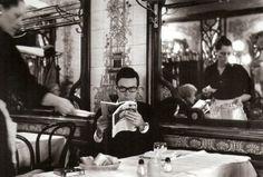 """Сharles Harbutt, Restaurant Rougeot, vers 1970"""