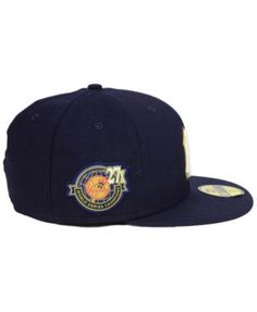 New Era New York Yankees Trophy Patch 59FIFTY Fitted Cap - Navy Navy 7 1 8 0f76b6b6ee4