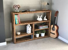 Hey, I found this really awesome Etsy listing at https://www.etsy.com/uk/listing/521538810/rustic-planked-bookcase-shelving