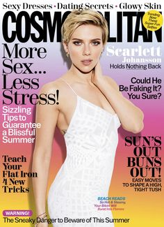 Scarlett Johansson - Cosmopolitan US July 2017 | Elite Girl Squad | The Best Celebrity Pictures