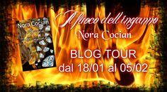 """Romance and Fantasy for Cosmopolitan Girls: PRIMA TAPPA BLOG TOUR NORA COCIAN """"Il fuoco dell'i..."""