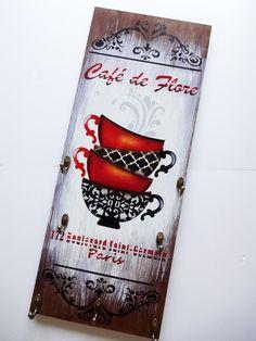 Porta xícaras-Café de Flore