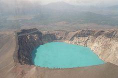 Maly Semyachik Crater Lake