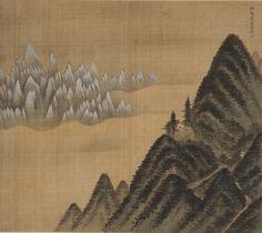 겸재 정선 Kumgang Mountain view from Danbalryong