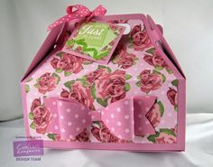 Kendra's Card Company: New Cupcake Range & Decorated Gable Box!
