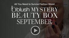 blush Mystery Beauty Box .. full size products