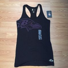 Baltimore Ravens Tank Brand new with tags Nike Baltimore Ravens tank. Racerback design. Nike Tops Tank Tops